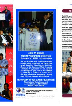 Unizulu Foundation - Halala Newsletter 2018_Page_1